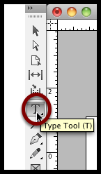 Select the Type Tool