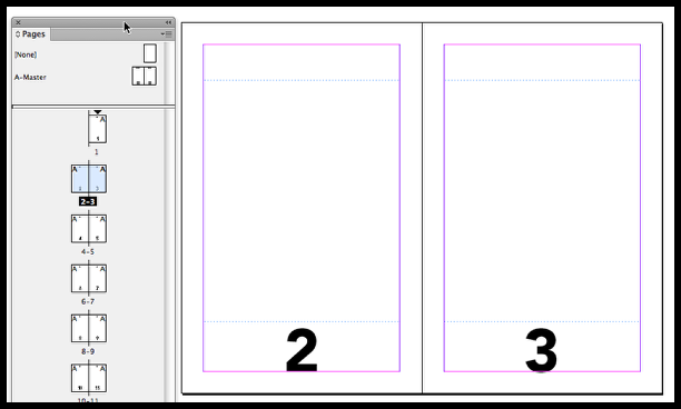 InDesign missing section markers on pages