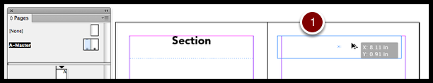 InDesign option shift drag text frame
