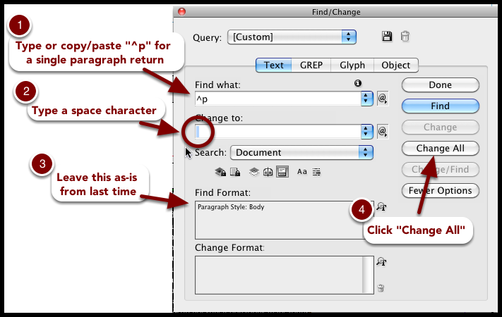 single hard return in word However, you can run into complications for example, you may not have used the formatting options to specify the spacing between paragraphs or lines of text instead, you may have inserted extra returns do you have to scroll through your document, removing the extra returns manually the process would be tedious.