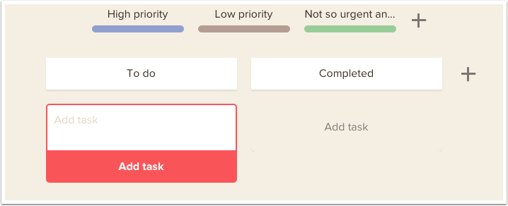 Seems simple enough to add a task
