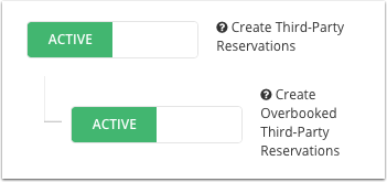 Navigate to Users - Roles - Edit Role - Under Reservations