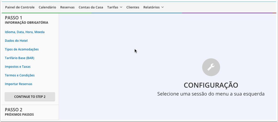 3 - Seja bem vindo ao seu guia de configuração interativo!