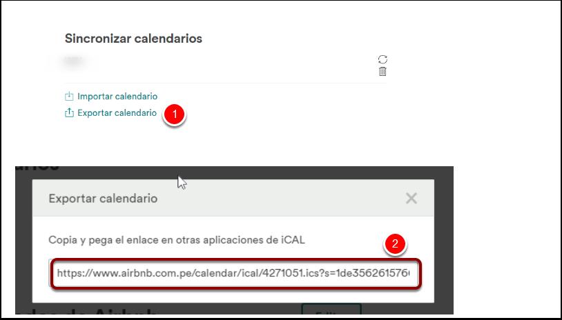 Paso 2.3: Exportar Calendario