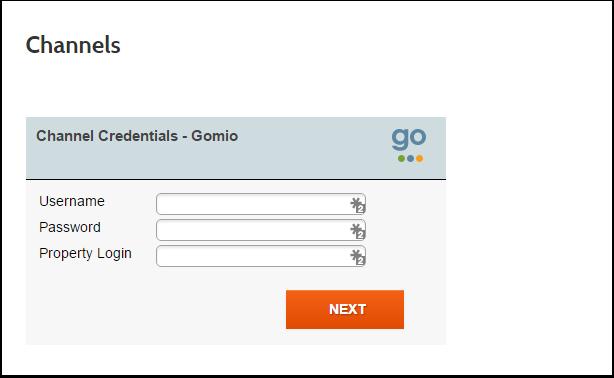 Step 1: Enter Credentials