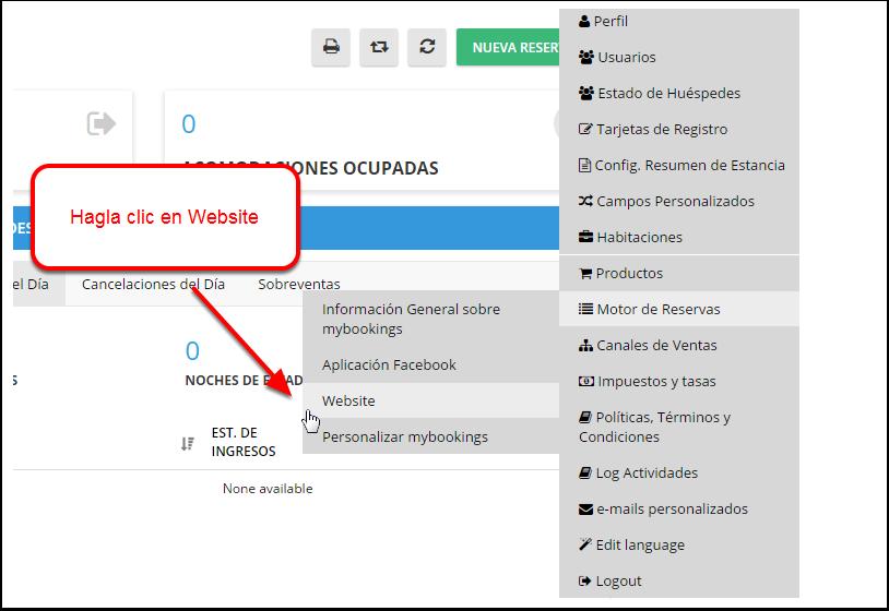 Opción 2 - Utilice uno de nuestros pre-diseñados widgets en tu página web