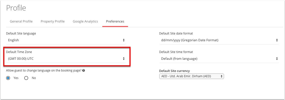 Step 4:  Change the drop down to your desired