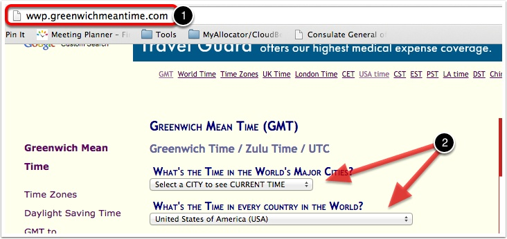 What if I don't know my GMT timezone?