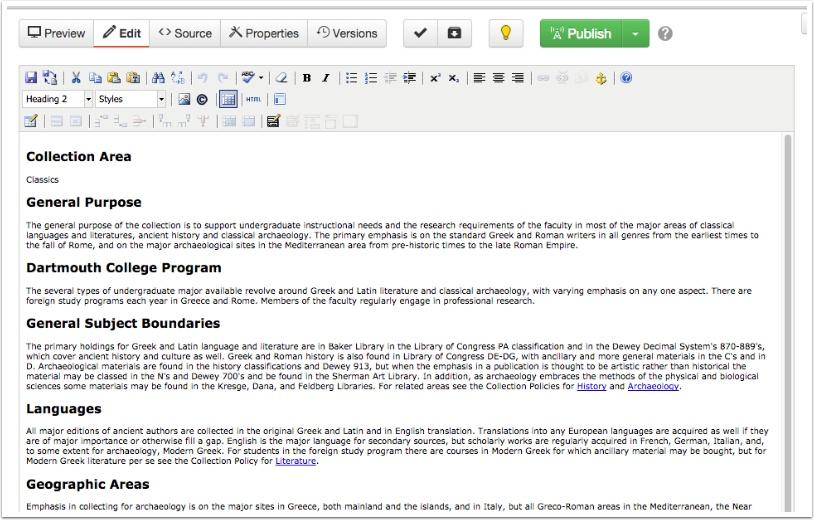 OmniUpdate (OU) editing interface - 4