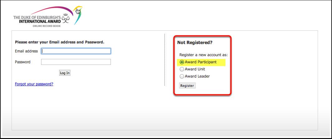 ORB Registration