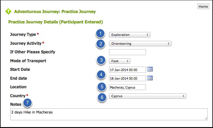 Practice Journey