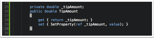 Add TipAmount Property to TipCalculatorPageViewModel
