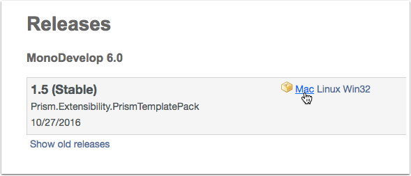 Download the Prism Template Pack Manually if Necessary