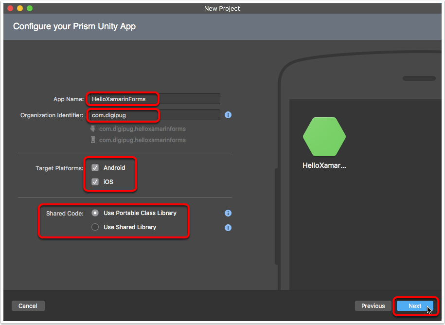 Name & Configure Your App