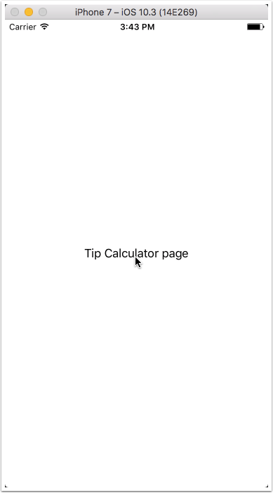 Your TipCalculatorPage