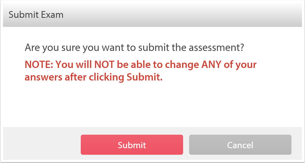 Submitting your assessment.
