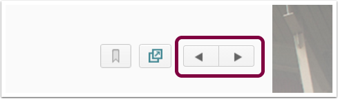 Iteration/Arrow Buttons