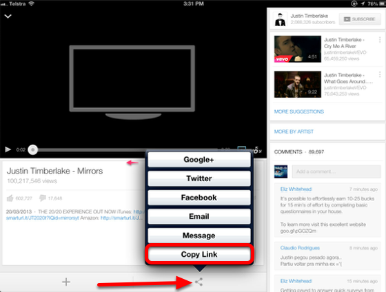 Convert a video to an mp3 - using your iPad