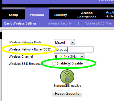 What can you do if you cannot access a network that is not broadcasting its network name or SSID: