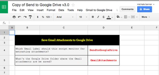 Download the Google docs script