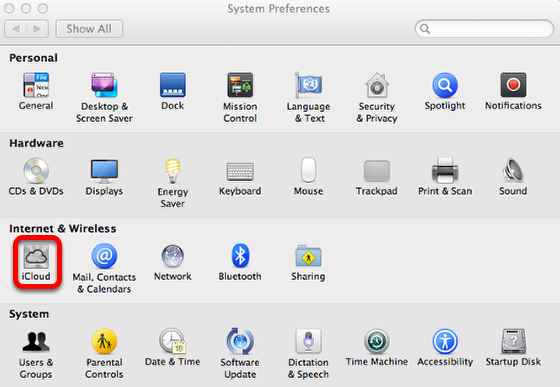 Setup Photostream on a MAC or iPhone
