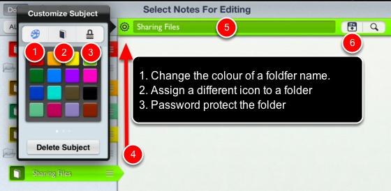 Formatting your Folders