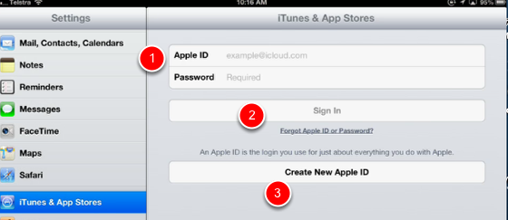 Sign in to a different iTunes account