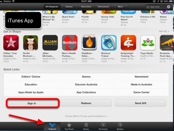 Other ways to change iTunes accounts