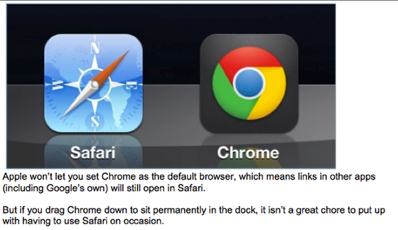 Chrome or Safari?