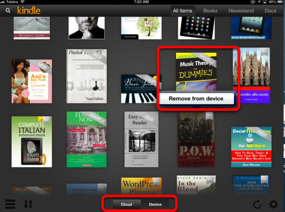 are you able to down load barnes and noble ebooks to kindle