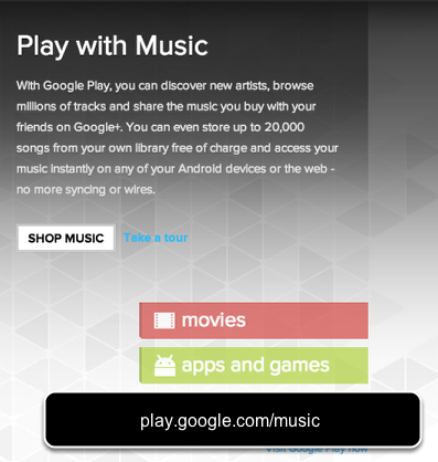 Music in the Cloud - Google Play Music