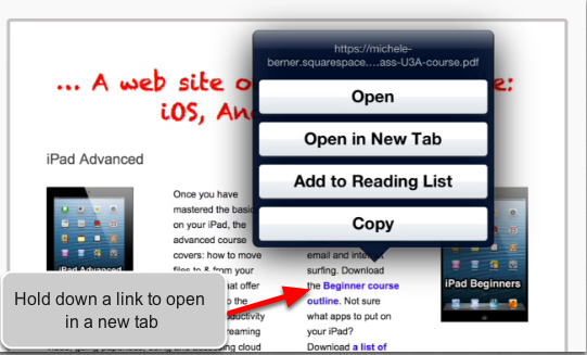 Open Links in a New Tab
