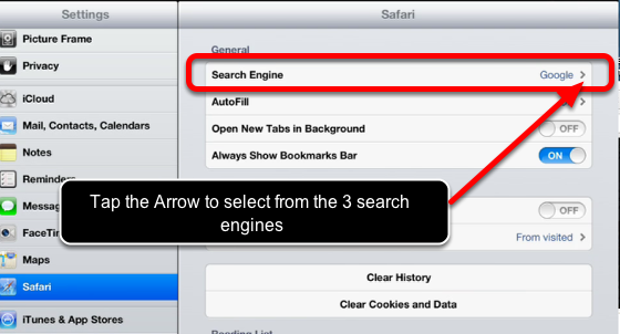How to Change the Default Search Engine