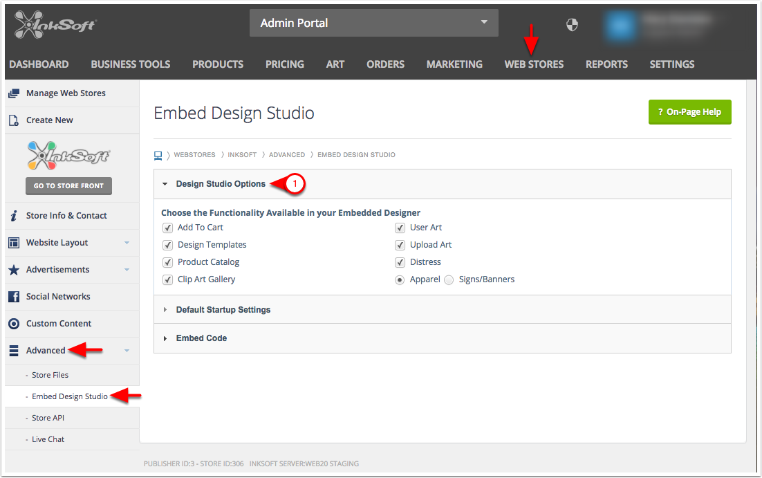 Embed Design Studio