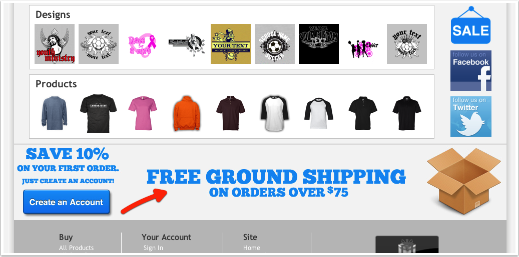 2: FREE SHIPPING THRESHOLD
