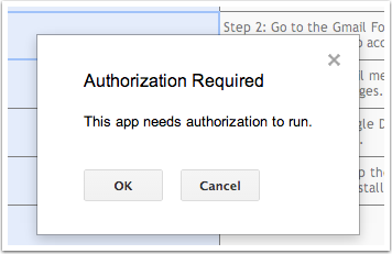5. Confirm authorization.