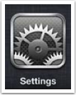 Tap on Settings