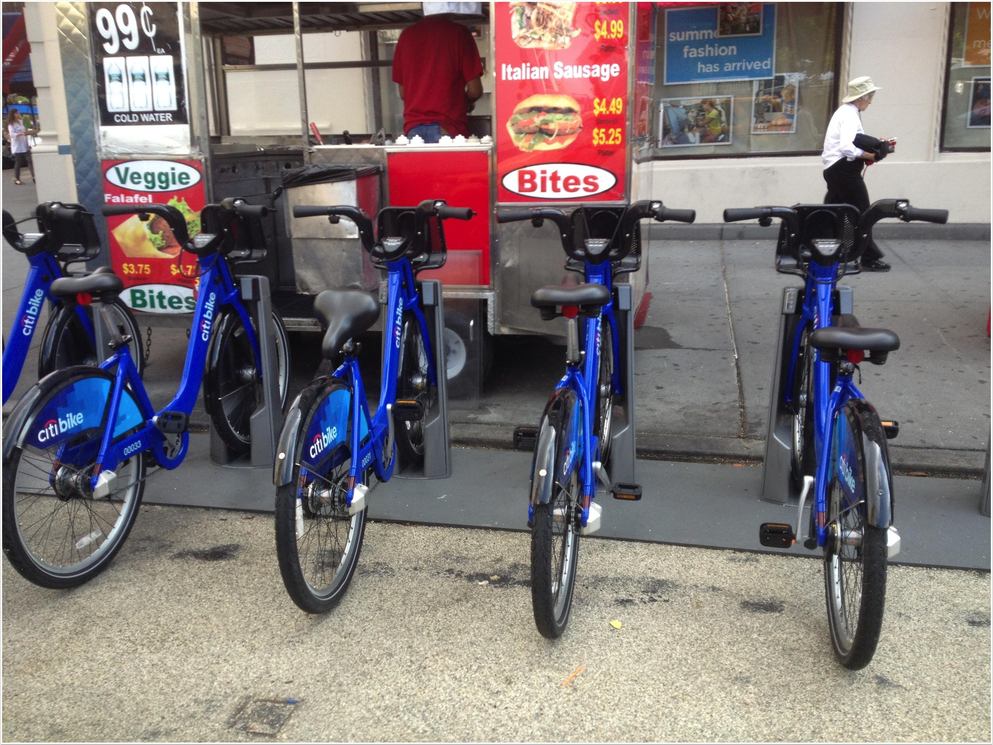 Shared bikes