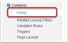 Add fields from Household to Contact object