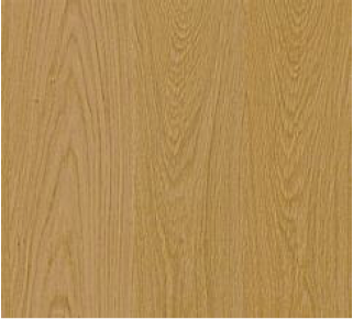 Oak after it receive a natural finish