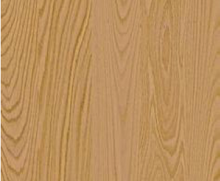 Red Oak, after it received a natural finish, looks pinkier than Oak