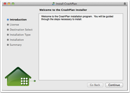 Install CrashPlan on a Computer