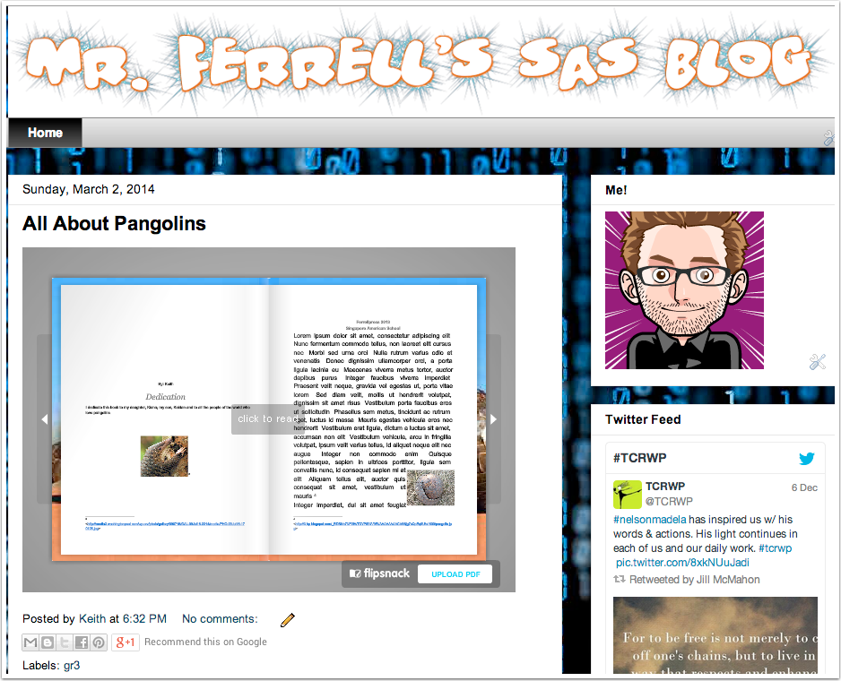View Blog to Enjoy Your Flipping Book!