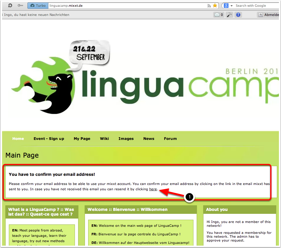 A4. LinguaCamp Berlin 2013 - Main Page 2