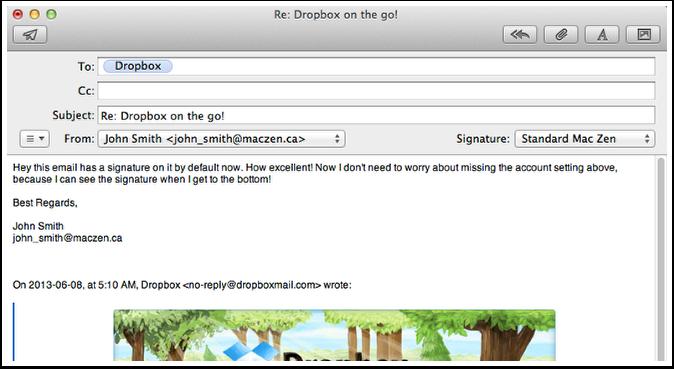 Re: Dropbox on the go!