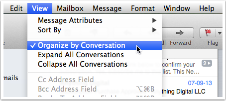 Turning Conversation View On & Off