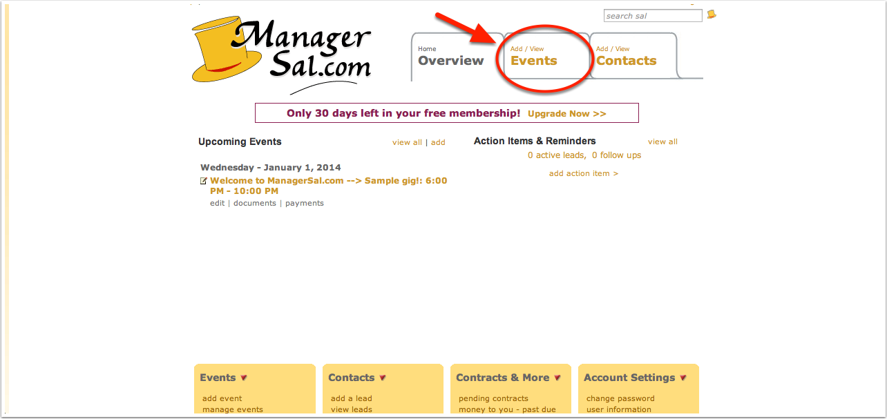 Welcome to ManagerSal.com