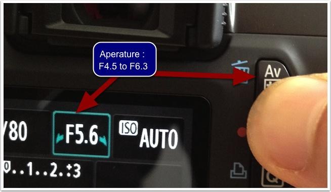Aperture: f5.6