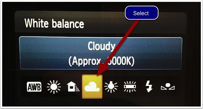 WB : Cloudy - Nuageux