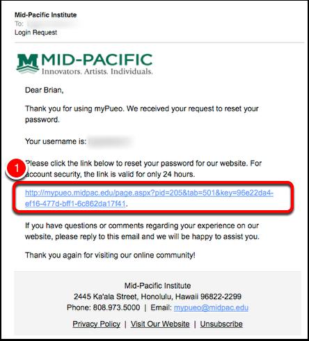 Login Request Email